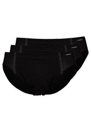 ESSENTIALS SUPERMINI 3 PACK - Briefs - 3 PACK - black