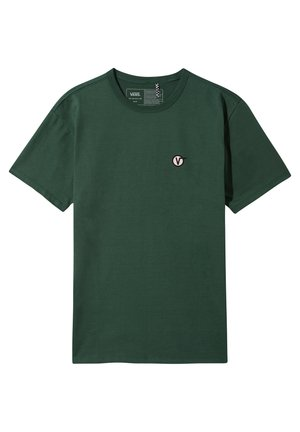 OFF THE WALL CLASSIC CIRCLE - T-shirt con stampa - pine needle