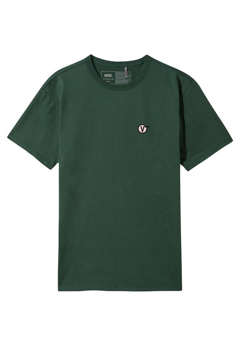 Vans - OFF THE WALL CLASSIC CIRCLE - Print T-shirt - pine needle