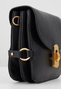 Coccinelle - ZANIAH SQUARE - Across body bag - noir - 6