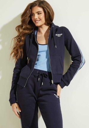 veste en sweat zippée - blau
