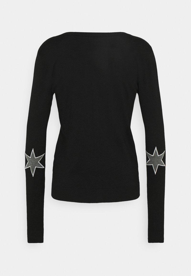 Culture ANNEMARIE CARDIGAN - Strickjacke - black/schwarz 6UfIcq