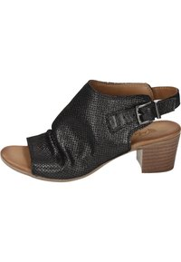 Piazza - Ankle cuff sandals - black - 0
