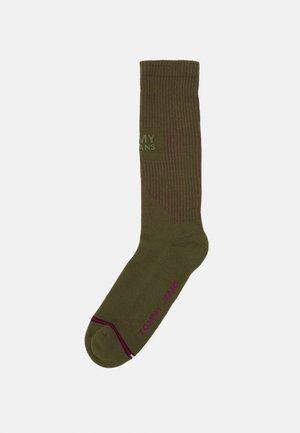 SOCK CYBER LINES UNISEX - Ponožky - olive