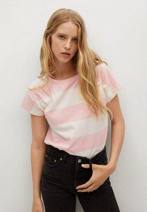 T-shirt print - roze