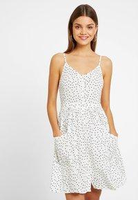 Superdry - AMELIE CAMI DRESS - Shirt dress - white - 0