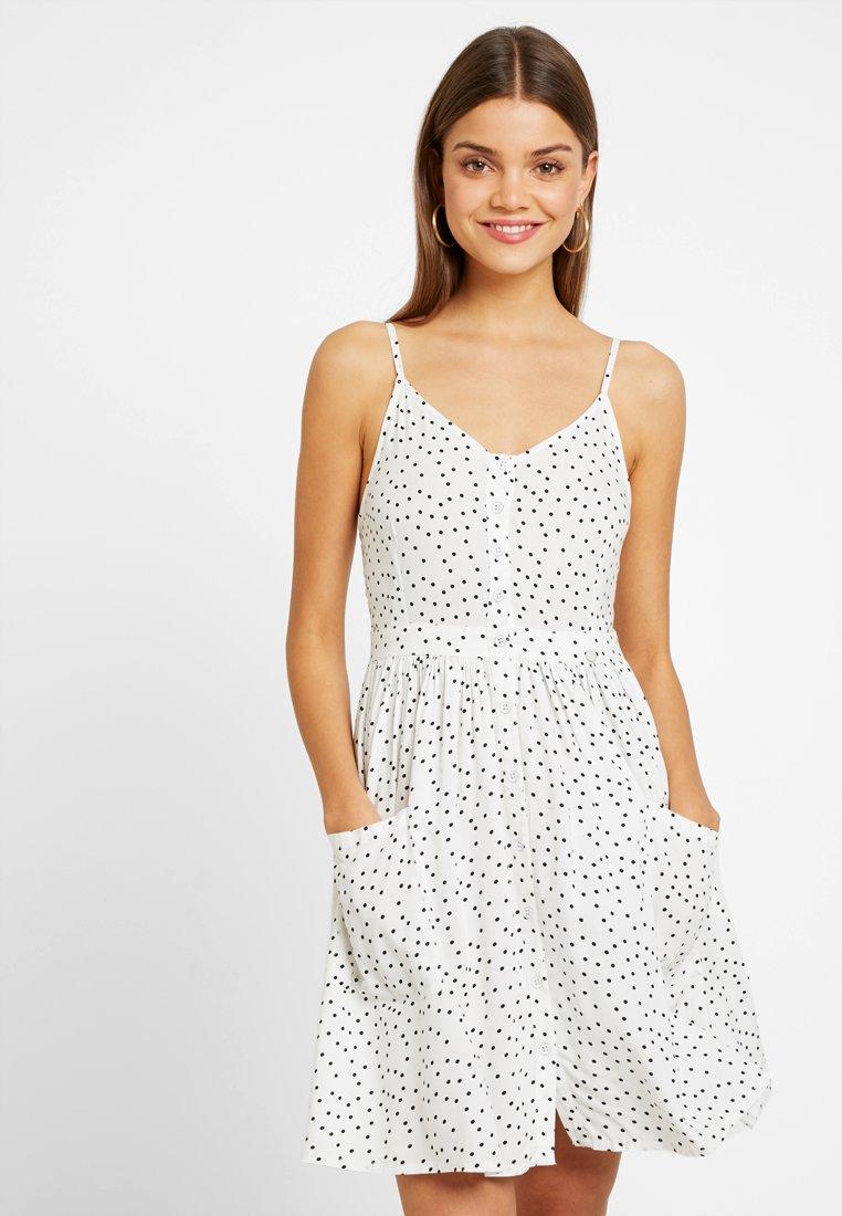 Superdry - AMELIE CAMI DRESS - Shirt dress - white