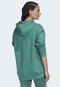 adidas Originals - Luvtröja - turquoise/white - 1