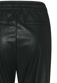 Cinque - CISOLA - Leather trousers - schwarz - 3