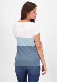 alife & kickin - CLEAAK - Print T-shirt - steel - 2