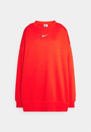 Sweatshirt - chile red/white