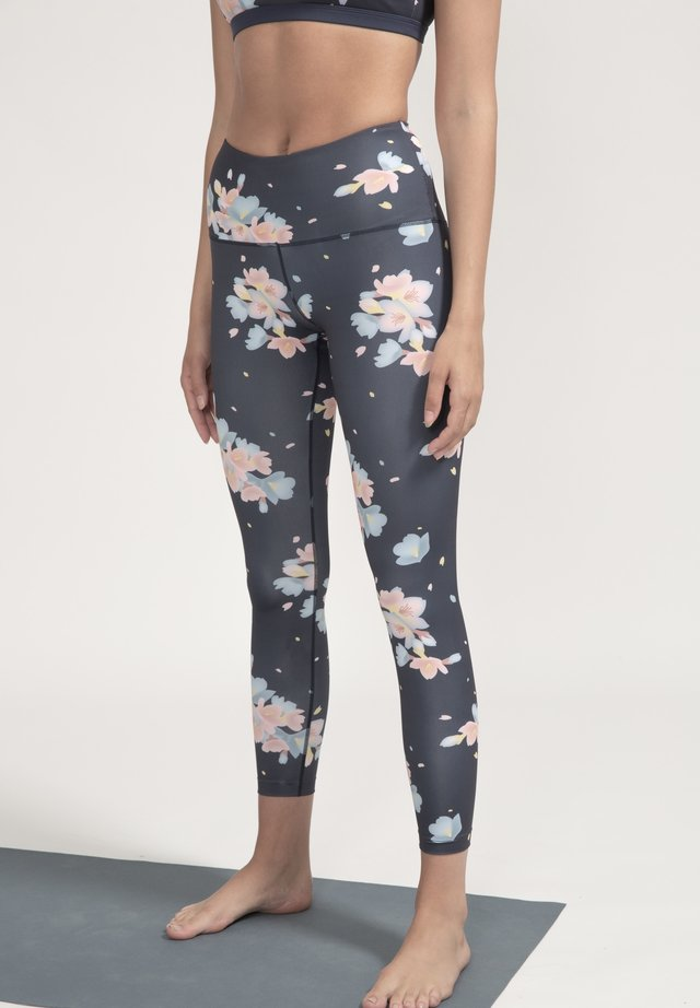 Leggings - blau