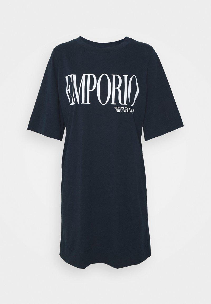 Emporio Armani - MAXI T-SHIRT - Nightie - marine