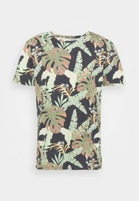 TOM TAILOR DENIM - Print T-shirt - green - 4