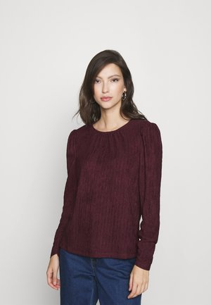 VMIRIS STRUCTURE - Long sleeved top - fig