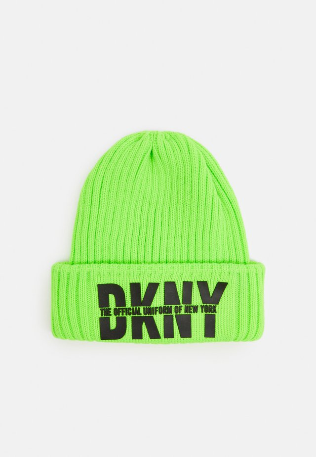 PULL ON HAT UNISEX - Čepice - fluo green