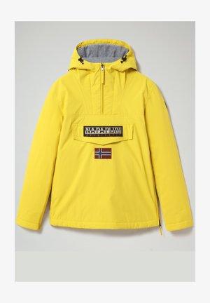 RAINFOREST WINTER - Waterproof jacket - yellow oil