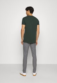 GANT - Trousers - charcoal melange - 2
