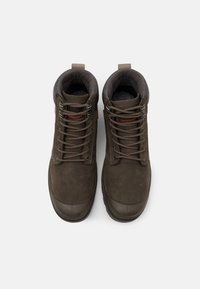 Palladium - PAMPA SHIELD WP+ LUX UNISEX - Lace-up ankle boots - major brown - 3