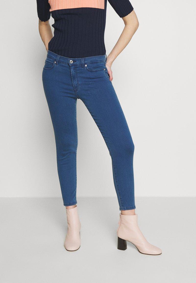 HUGO - CHARLIE CROPPED - Jeans Skinny Fit - light/pastel blue