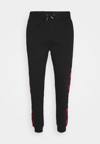 GALVEZ JOGGER - Pantaloni sportivi - black /red