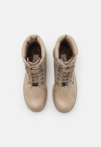 TOM TAILOR - Lace-up ankle boots - offwhite - 5