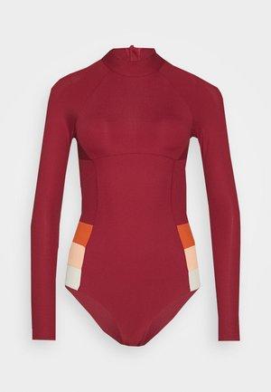 GOLDEN DAZE SSUIT - Swimsuit - maroon