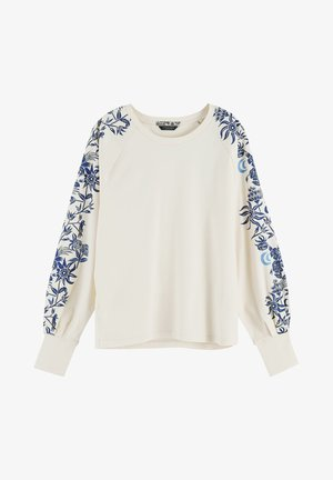LONG SLEEVE - Long sleeved top - off white