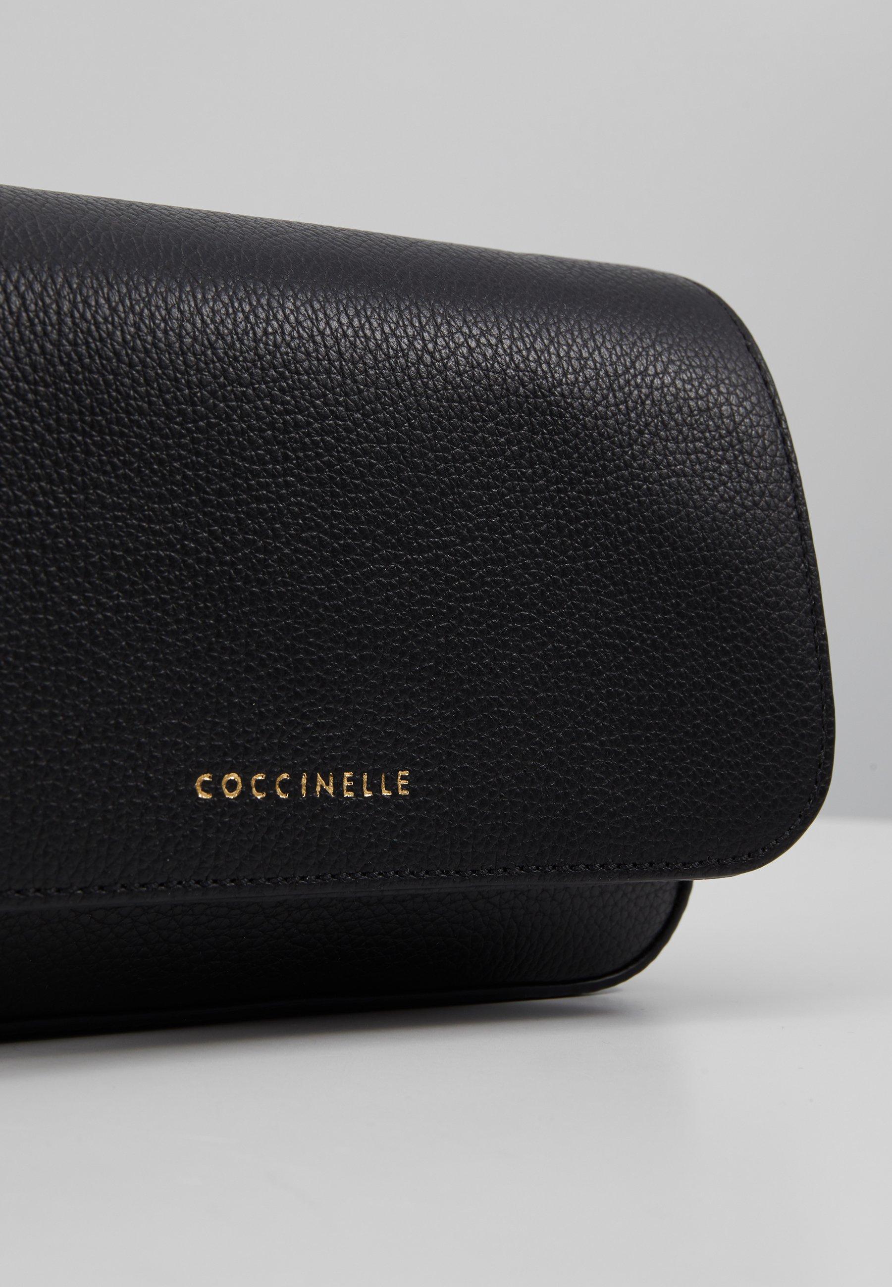 Autentyczny Gorąca wyprzedaż Coccinelle ANNETTA MINI BAG - Torba na ramię - noir | Akcesoria damskie 2020 cU7dV