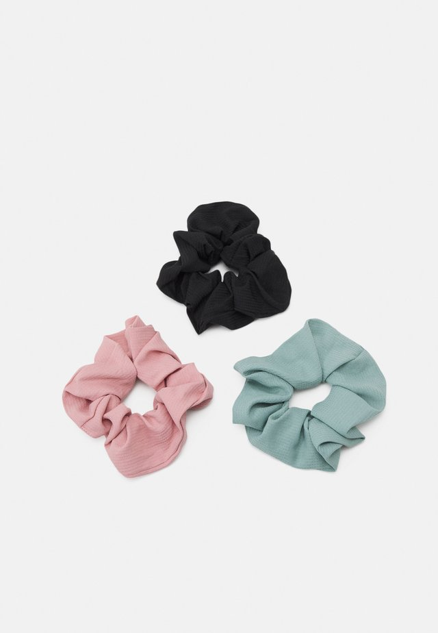 3 PACK - Hair Styling Accessory - black/pink /mint