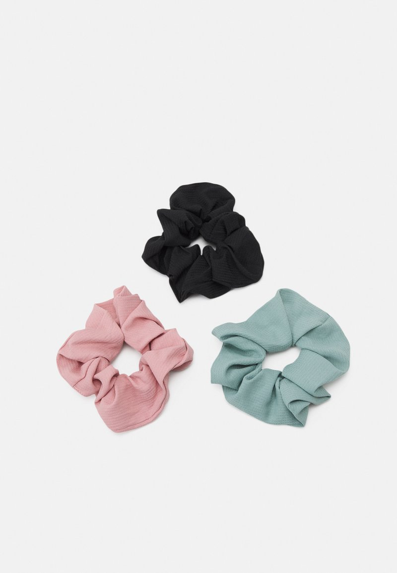 Even&Odd - 3 PACK - Hair Styling Accessory - black/pink /mint