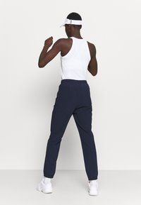 Lacoste Sport - OLYMP PANT - Trousers - navy blue/white - 2