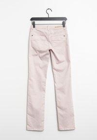 Street One - Straight leg jeans - pink - 1