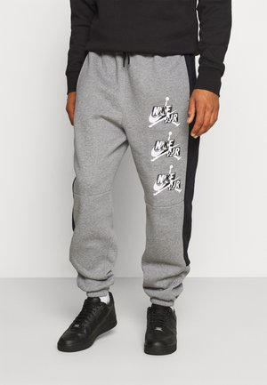 PANT - Tracksuit bottoms - carbon heather/black