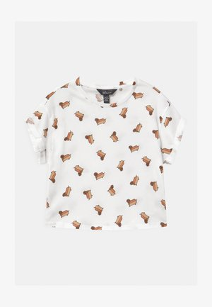 HOTDOG CONVERSATIONAL - Camiseta estampada - white