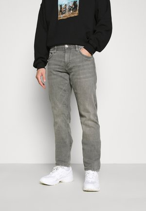 Straight leg jeans - grey medium wash