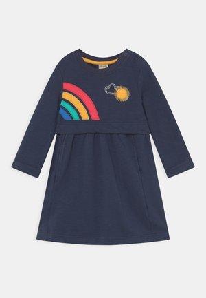 LEIA LOOPBACK DRESS - Day dress - dark blue