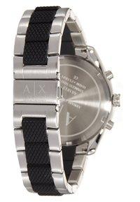 Armani Exchange - Chronograph watch - silver-coloured/schwarz - 2
