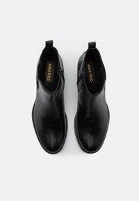 Anna Field - LEATHER - Kotníkové boty - black - 5