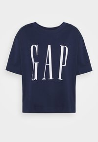 GAP - BOXY TEE - Print T-shirt - elysian blue - 0
