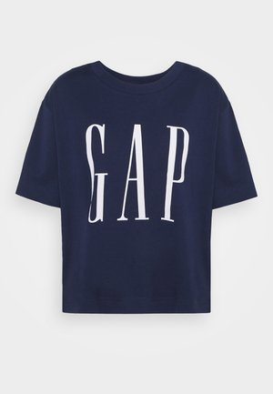BOXY TEE - T-shirt con stampa - elysian blue