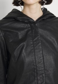 ONLY - ONLSEDONA - Faux leather jacket - black - 7