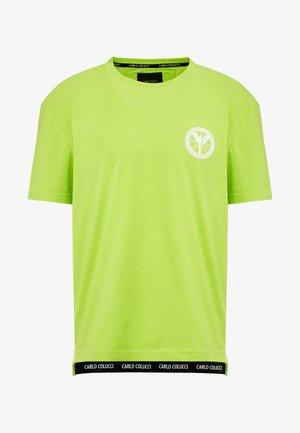 Print T-shirt - neongrün
