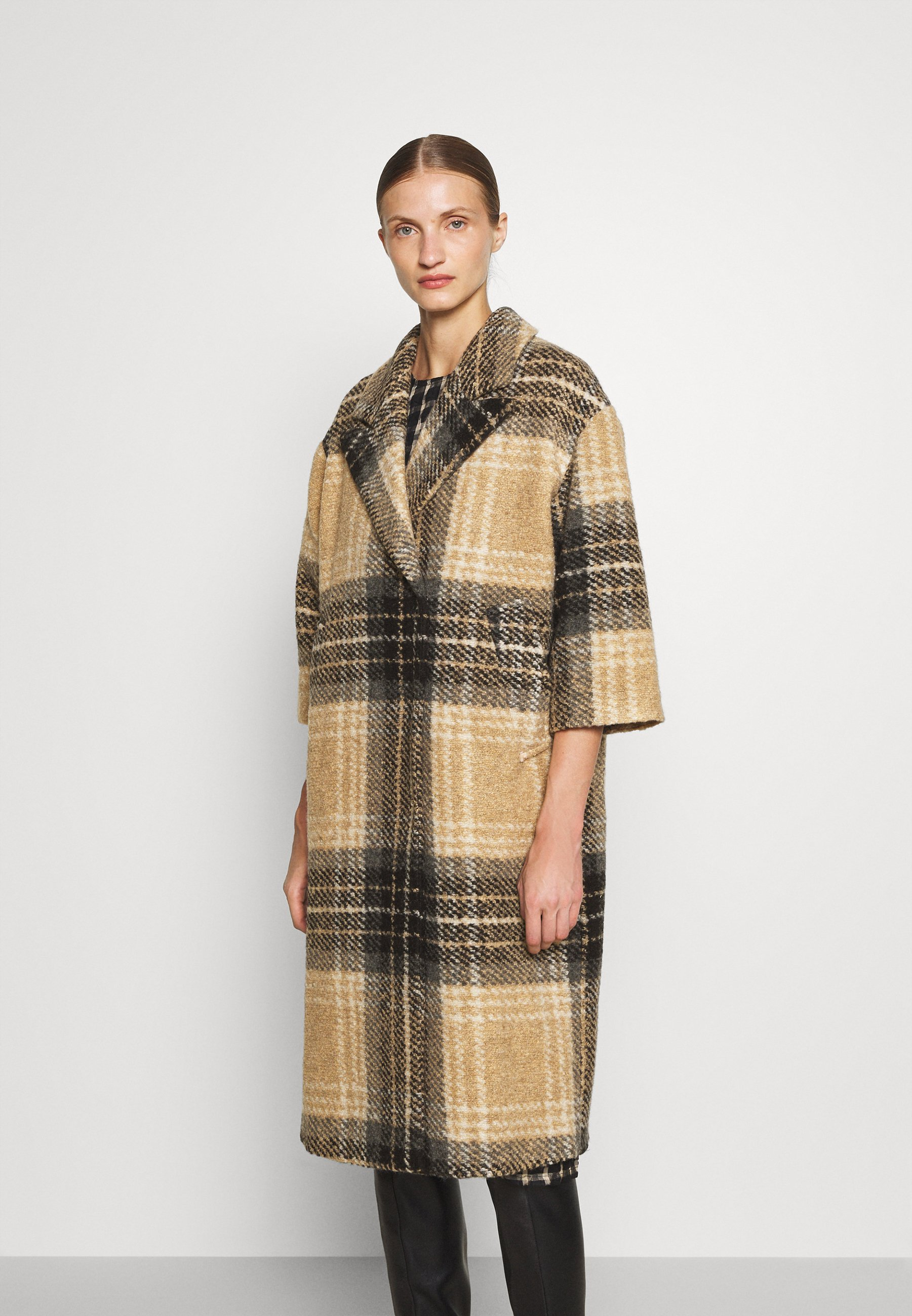 Women PECAN CHECK - Classic coat