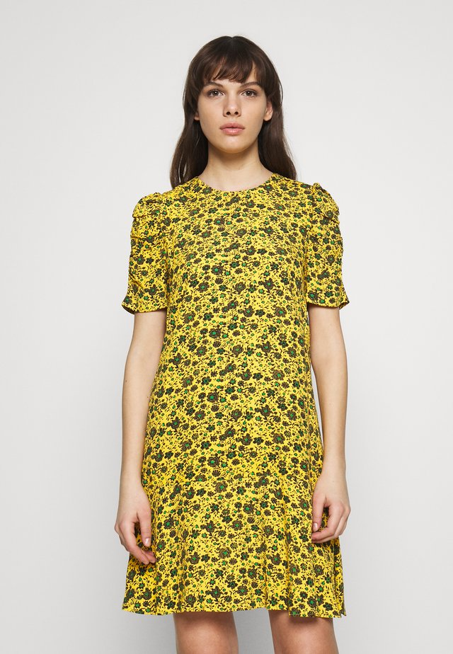 GEORGINA DRESS - Hverdagskjoler - yellow