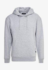 Bluza z kapturem - light grey melange