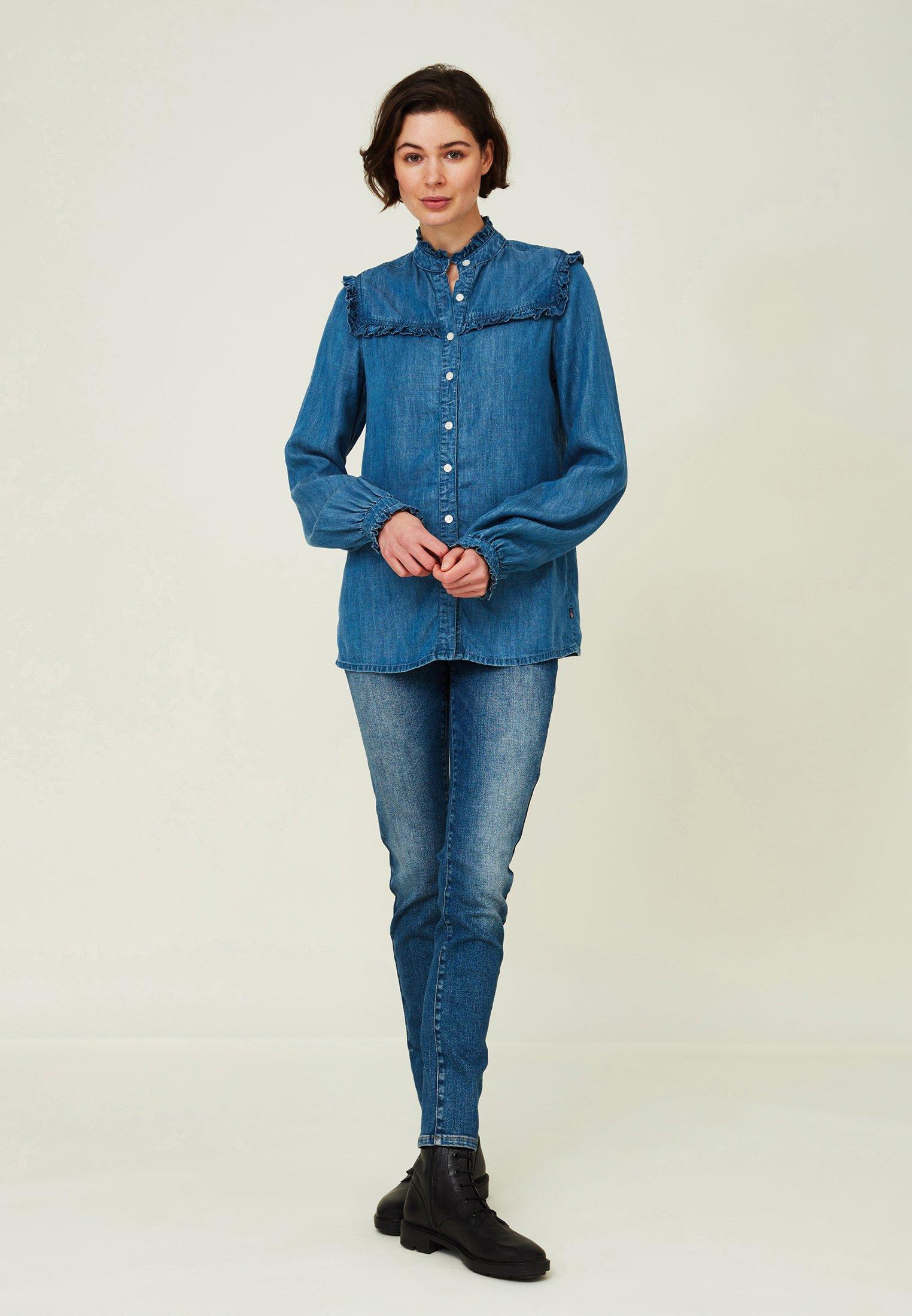 Donna Jordan Lyocell Ruffle - Camicia