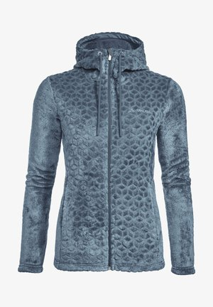 SKOMER - Fleece jacket - blue gray