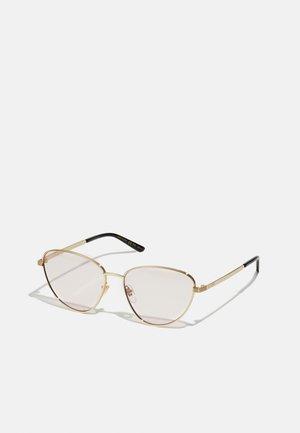BLUE & BEYOND - BLUE LIGHT - PHOTOCHROMIC LENS - Sunglasses - gold-coloured/pink