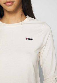 Fila - EAVEN - Long sleeved top - eggnog - 5